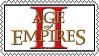 Age of Empires 2 Stamp by WarriorAngel36