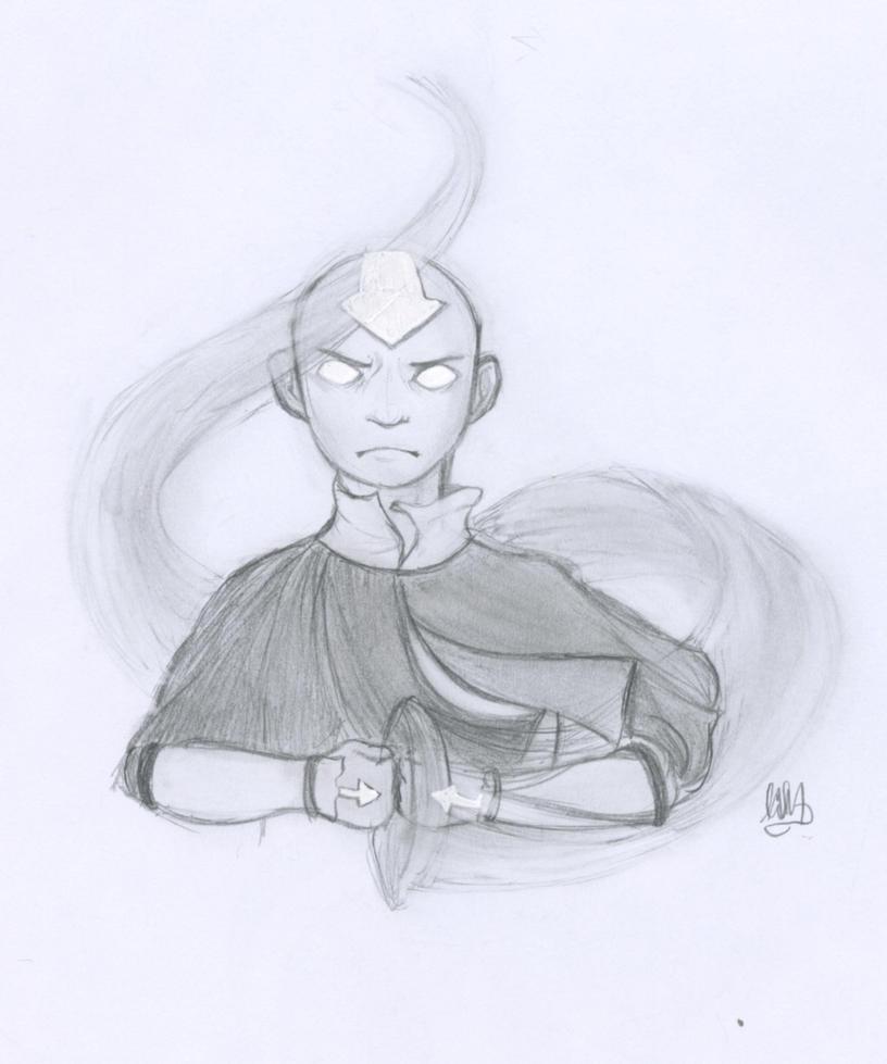 Movie Avatar State Aang: Aang Avatar State By LittleMuh On DeviantArt