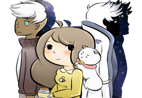 Bee And Puppycat by AlpacaApocalypse