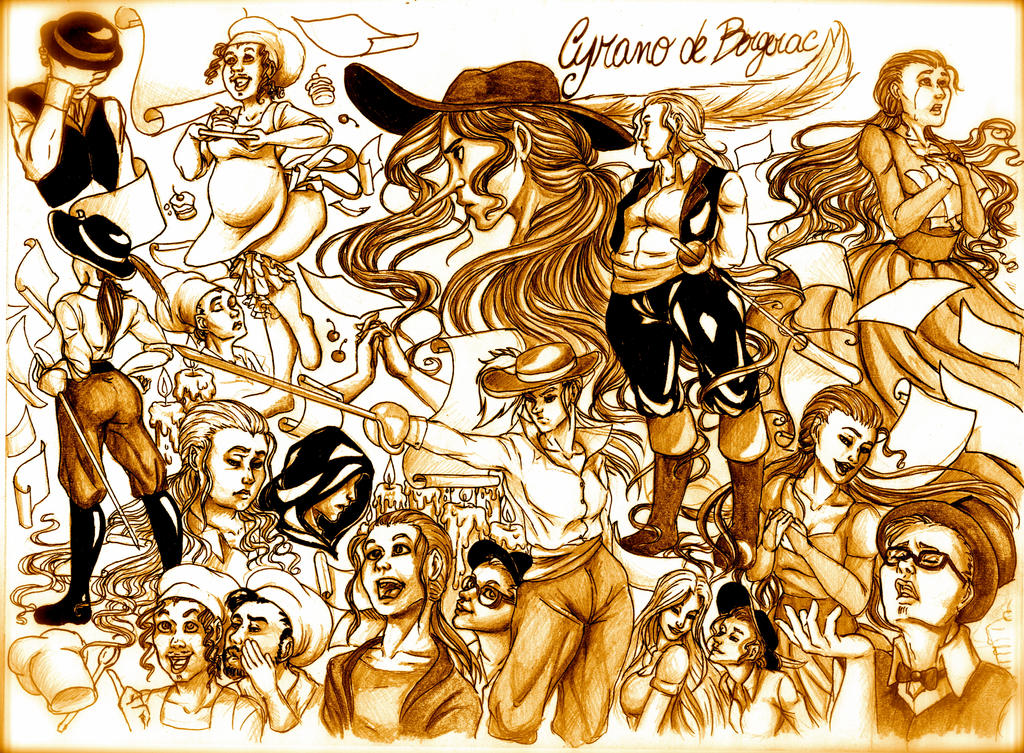 Cyrano de Bergerac by BornFreak
