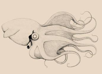 Bestiary- Giant Vampire Squid by SarHar-Car