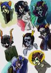 More faces bluh