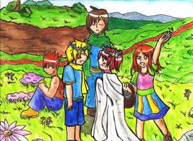 Mock Wedding - GS by SailorLi