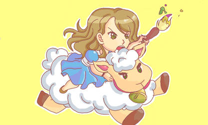 All hail the Sheep-ing by SailorLi