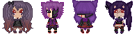 Pixel - Ghastly Evolution Family by Sports3388