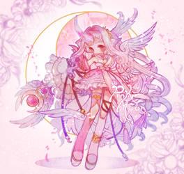 [Fairy Vials] Pink Moon P e g a s u s - -
