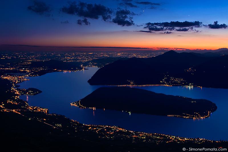 Monte Isola Twilight by SimonePomata