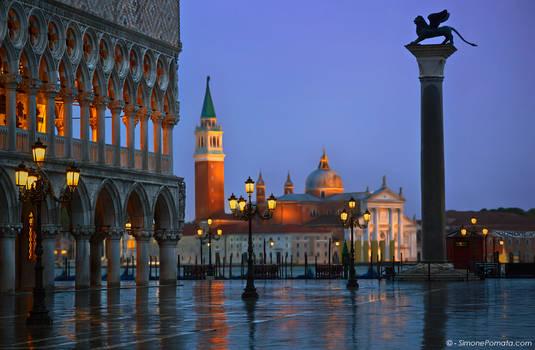 Rain in Venezia