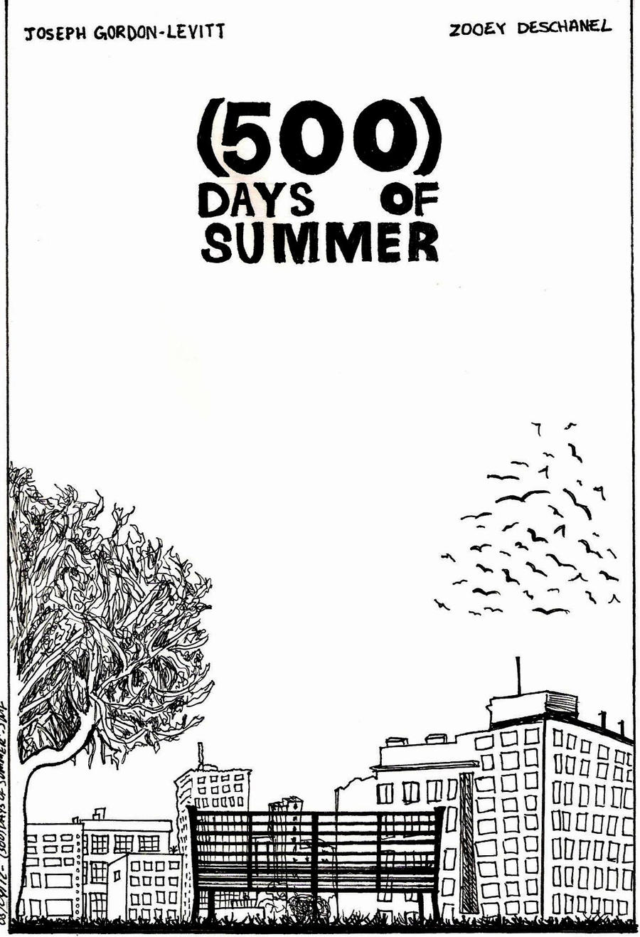500 days of summer poster by intothewild142 on deviantart for Architecture drawing 500 days of summer
