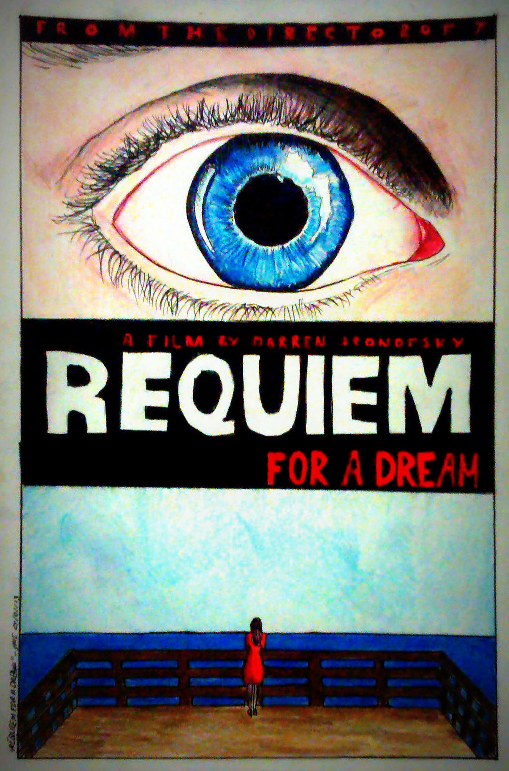 Requiem For A Dream Poster by intothewild142 on DeviantArt