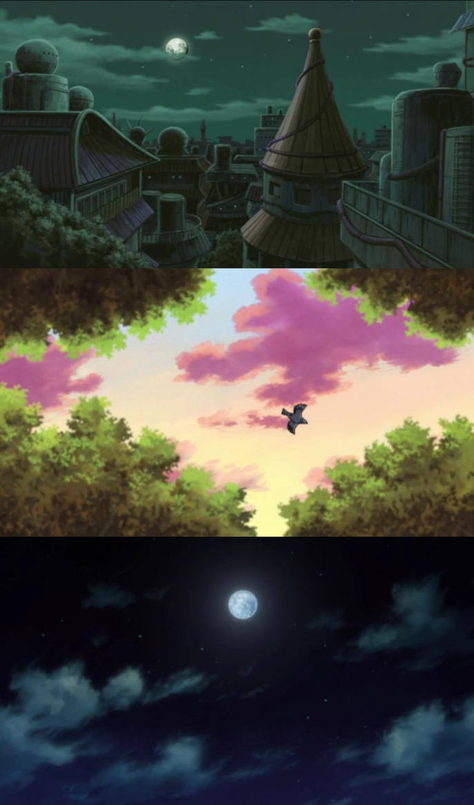 Naruto and Bleach Screenshots by inkblazer