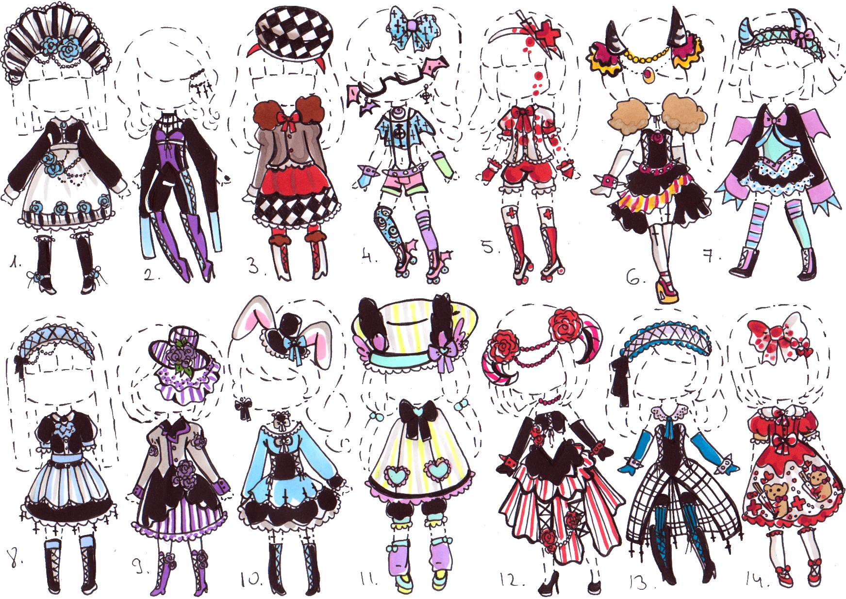 1000+ images about cute outfit ANIME on Pinterest