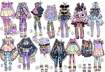 CLOSED- Mini outfits of August