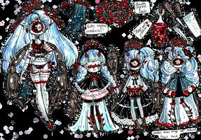 XynthiiMYO custom-Wooden Goth doll by Guppie-Vibes