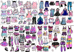 CLOSED-OUTFIT ADOPTS-Mix and Match