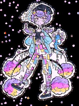 CLOSED-DTA Nunuke-Pastel Sprinkle Dragon