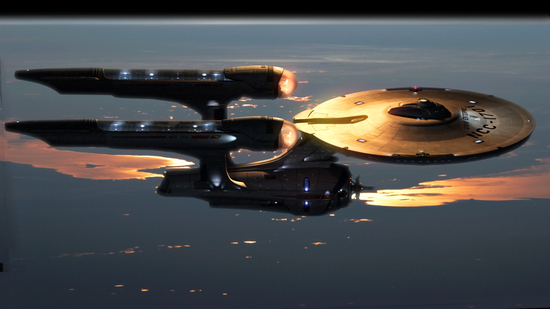 My Starship Enterprise By GabeKoerner