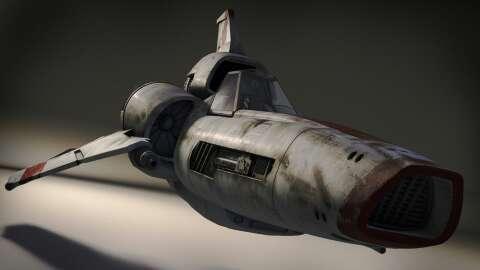 Battlestar Galactica - Viper by GabeKoerner