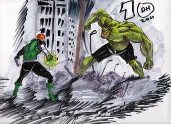 Greener isn't always Better by Dragonhorse10