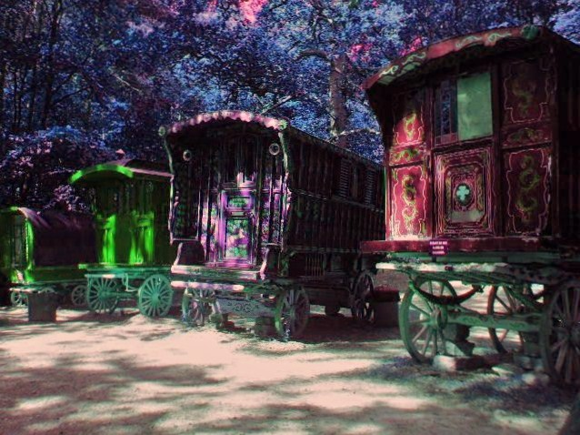 Mystical Gypsy Caravans by JussettaSnake on DeviantArt