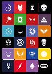 Super Heros Tshirt (Modern UI Style)
