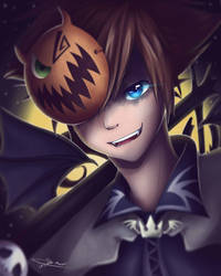Sora - Halloween Town by IreMau