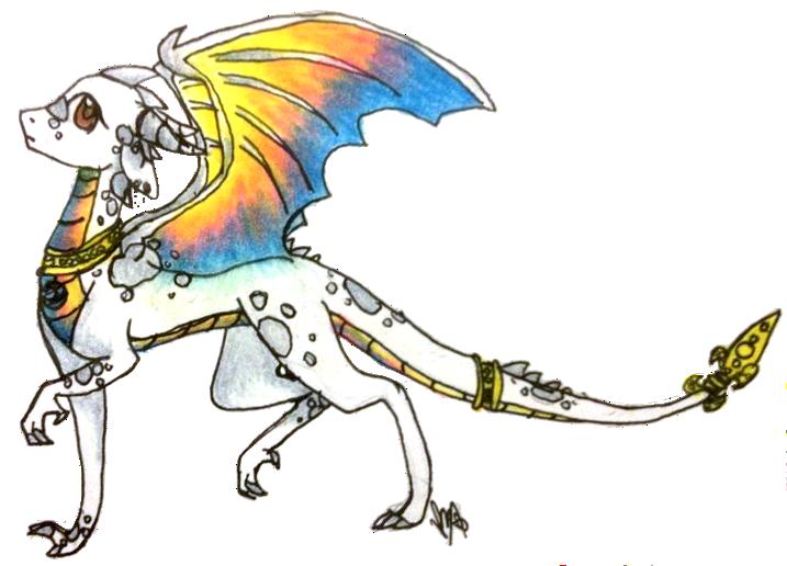 Aranka the dragon by FountainStranger
