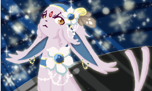 Sparkling Contestant by FountainStranger