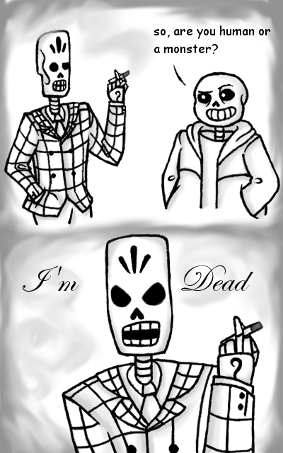 UnderFandango Skeleton Questions by FountainStranger