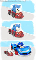 What if Classic Sonic was in Team Sonic Racing?
