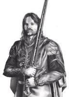 Aragorn Telcontar by AdrianoPlat00n