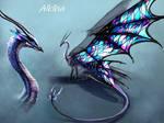 Alklha - character design
