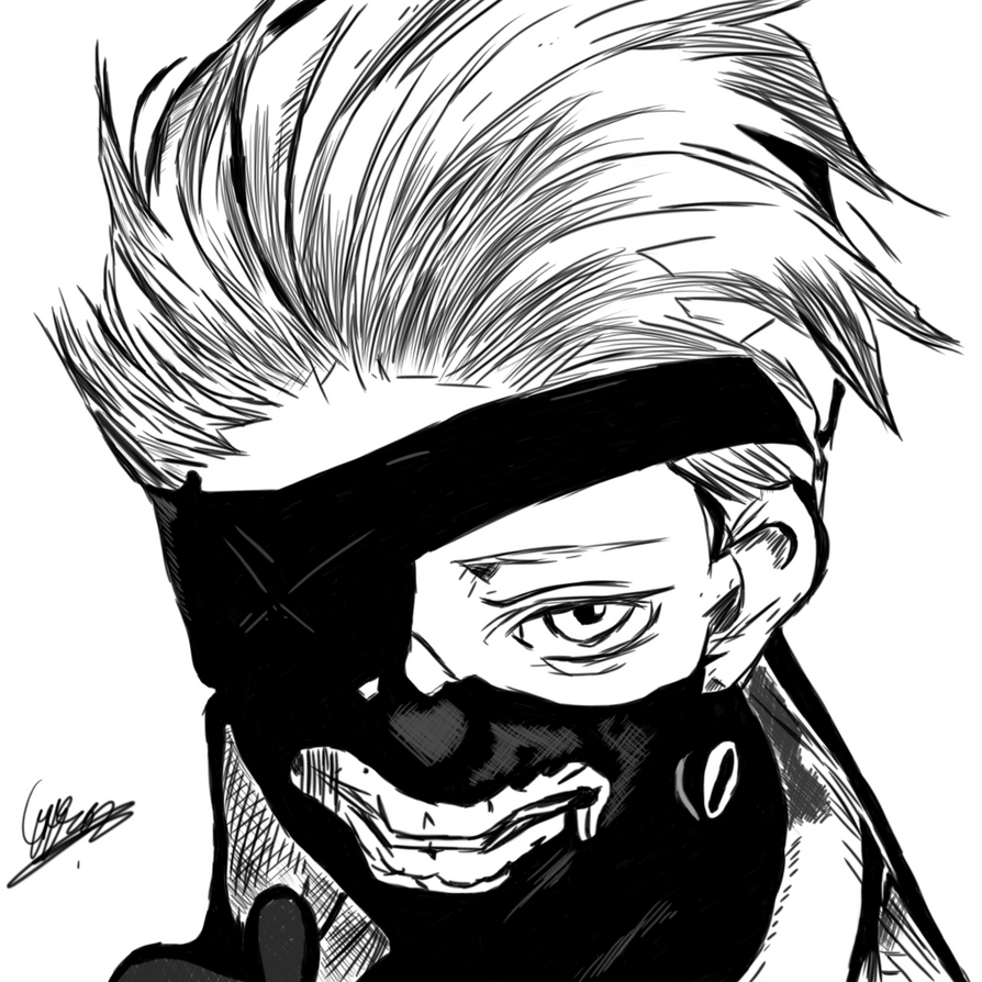 Ken Kaneki (sketch/drawing) By TheGiJon On DeviantArt