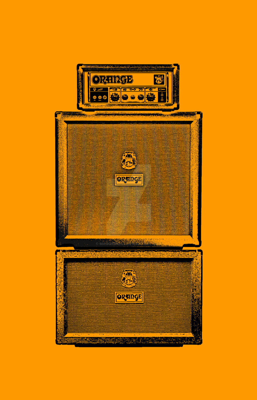 Orange Full Stack Guitar Amp 1 by maggiemgill