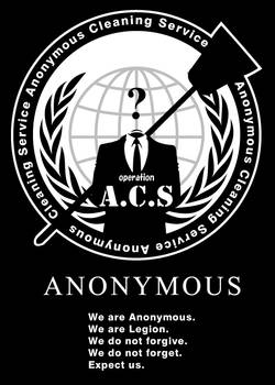 Anonymous Cleaning Service #OpACS - B