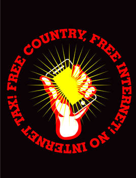 FREE COUNTRY, FREE INTERNET! NO INTERNET TAX!