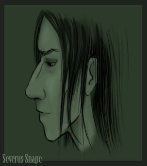 Snape by bananacosmicgirl