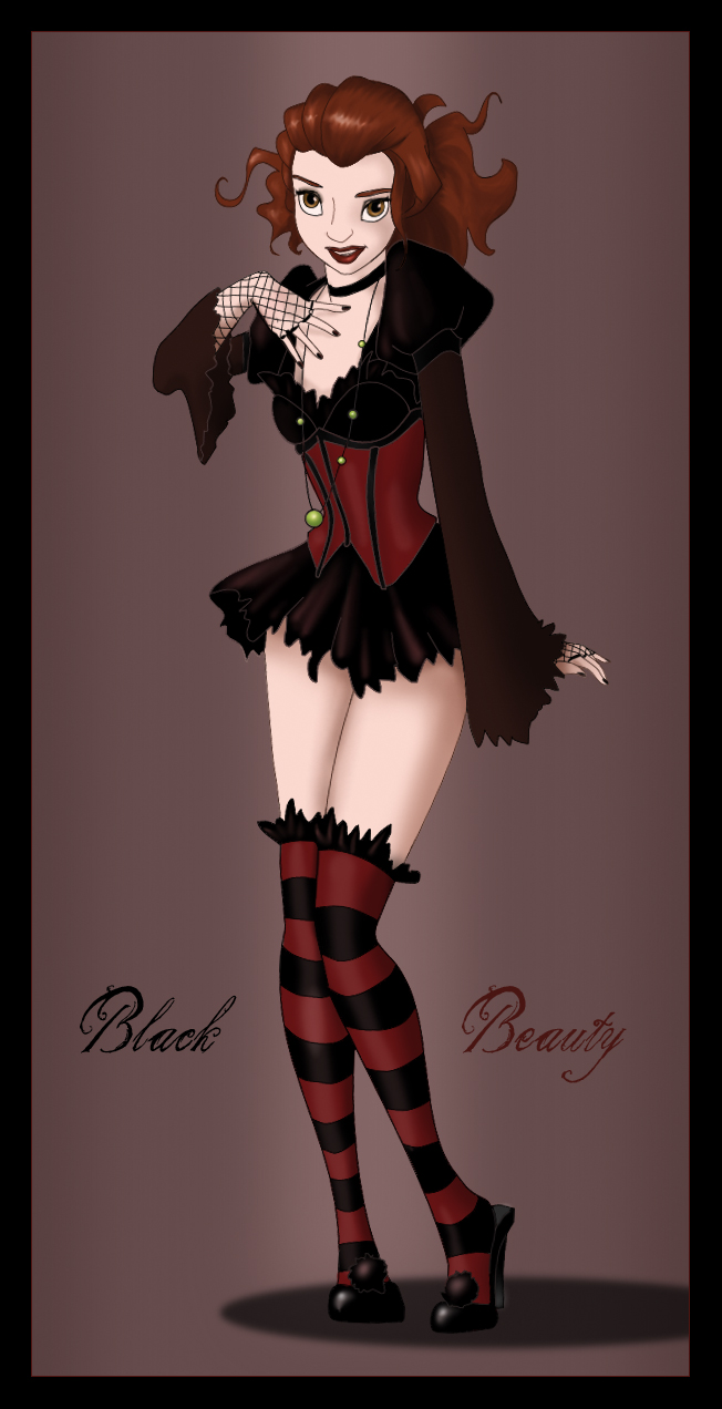 Black Beauty by bananacosmicgirl