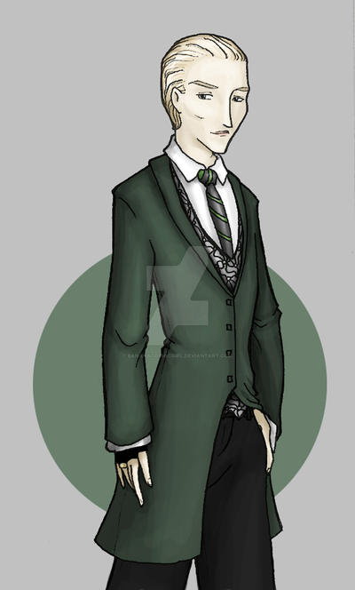 After Rain: Draco Malfoy by bananacosmicgirl