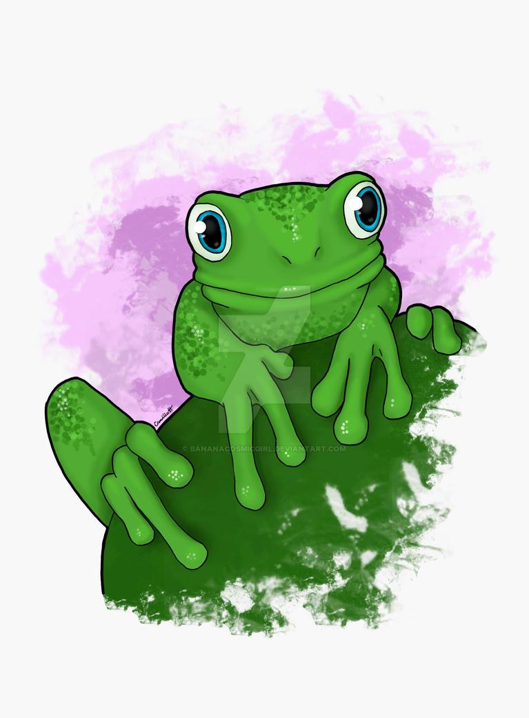 Frog by bananacosmicgirl