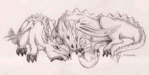 Dragon family happiness