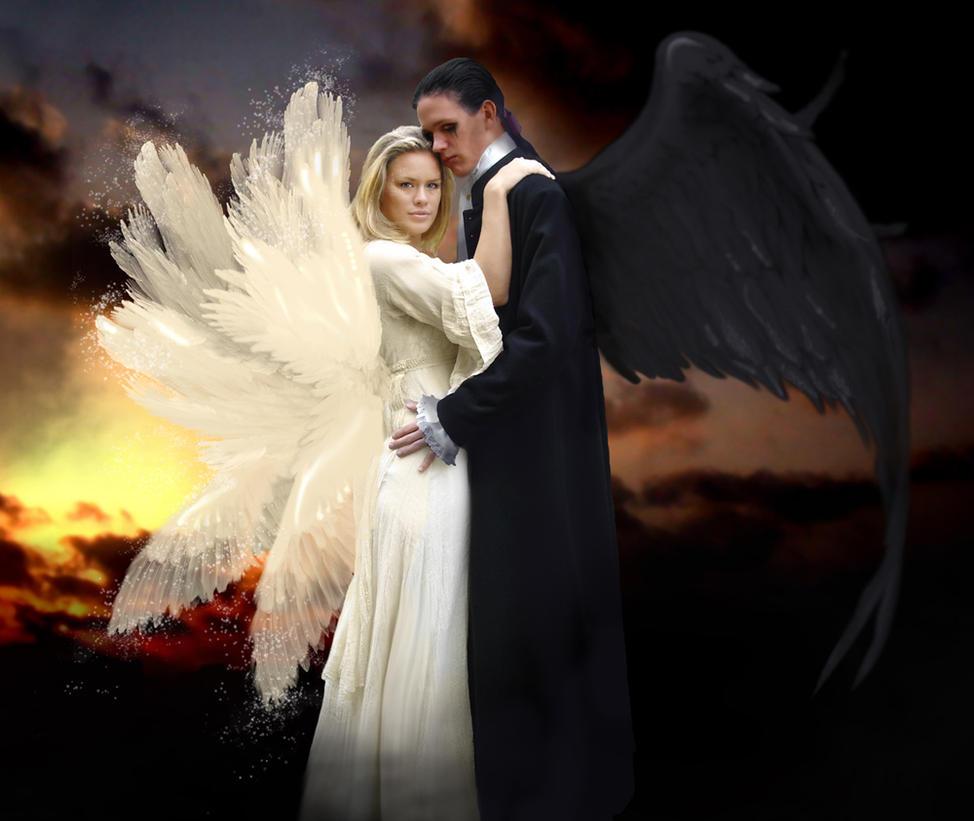 Angel and Demon by bananacosmicgirl