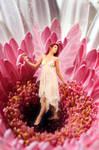 Fairy in a flower