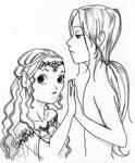 Manga fairy couple
