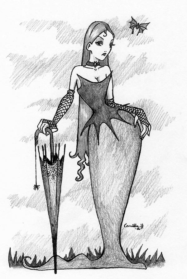 Queen of the Dark by bananacosmicgirl