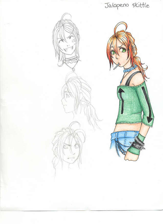Doodle Art Character Design : Character design doodle by psycho kitty on deviantart