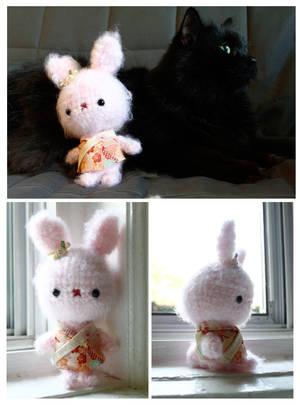 Fluffy Bunny Amigurumi