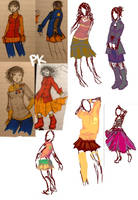 Clothes Designs by psycho-kitty