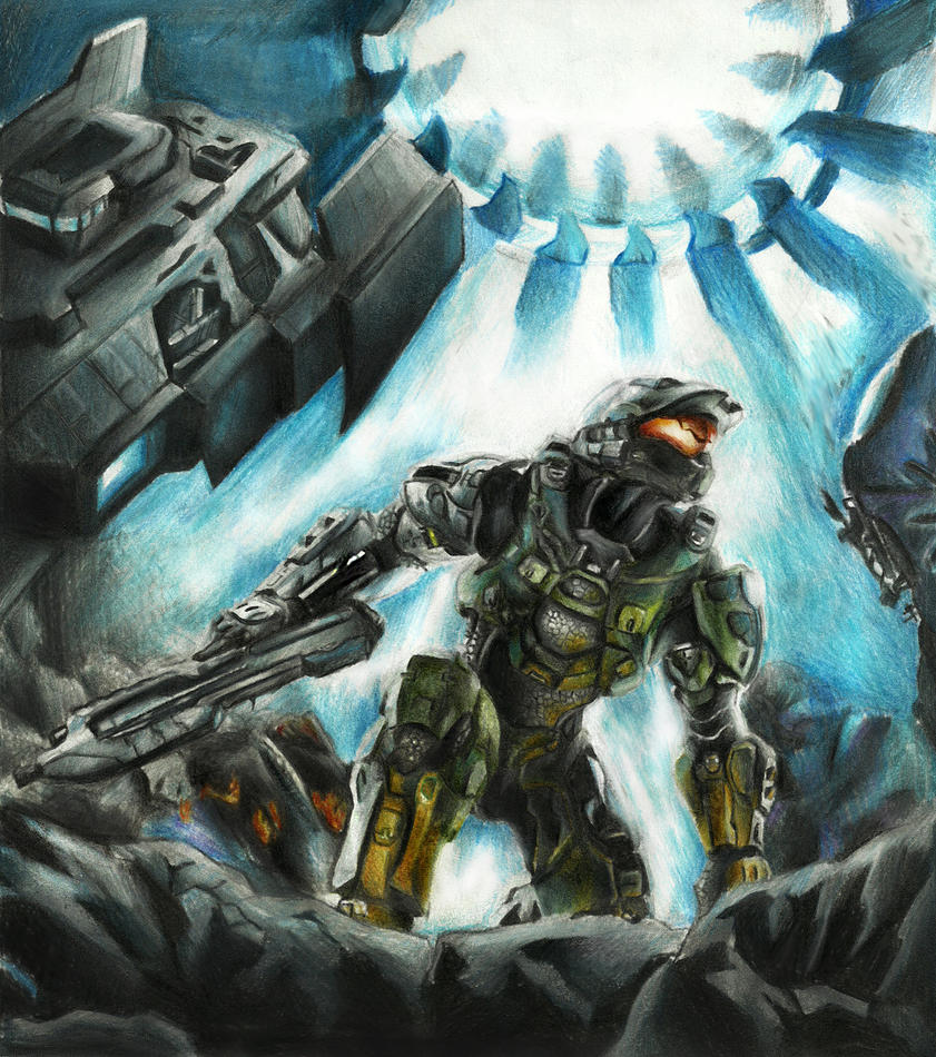 Halo 4 Cover by EnergizerII