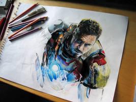 Tony's rise   -   iron man